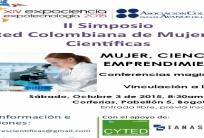 II Simposio de la Red Colombiana de Mujeres Científicas «Mujer, Ciencia y Emprendimiento»