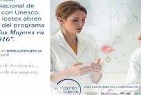 «Mujeres para la ciencia 2016».