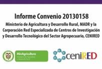 Informe Convenio 20130158